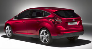 The 2012 Ford Focus 5-door hatchback